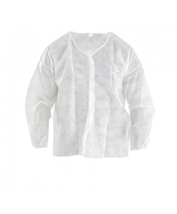 Short disposable gown,...
