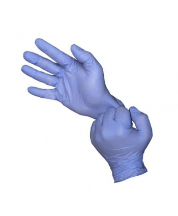Disposable nitrile glove...